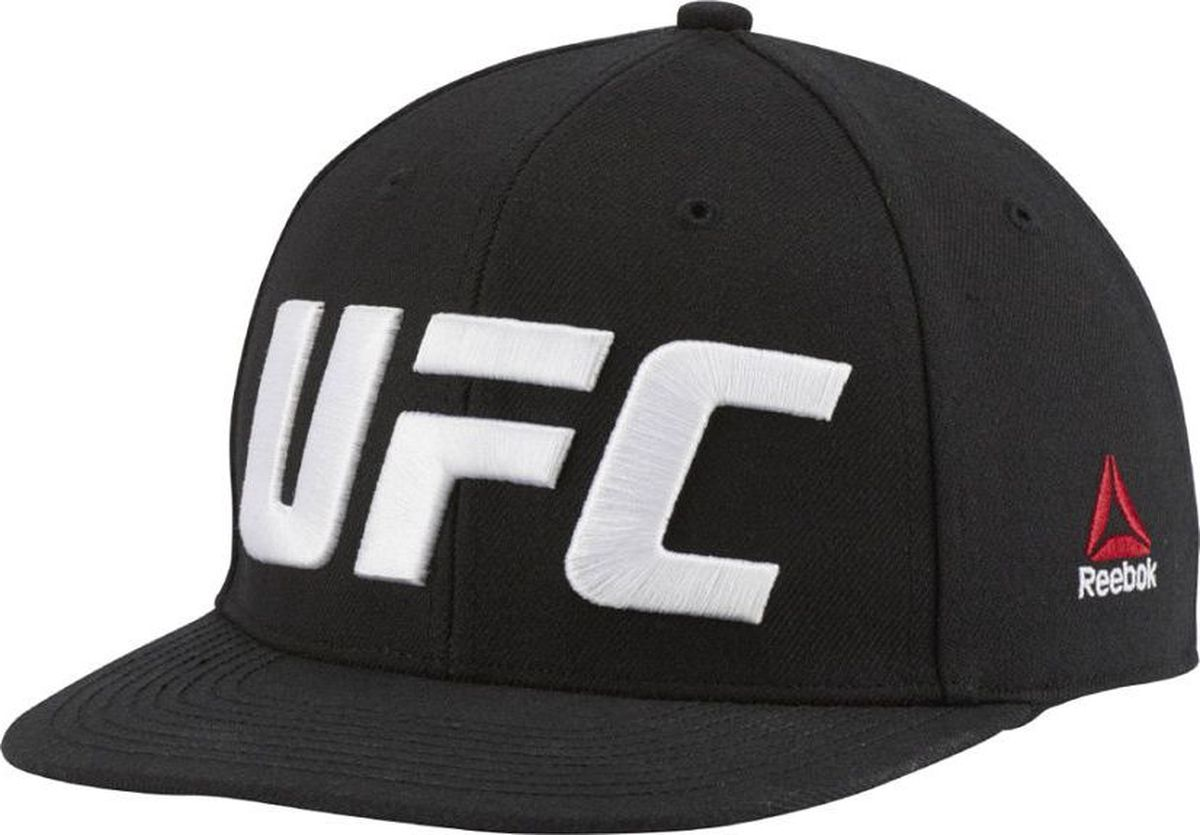 Бейсболка Reebok Ufc Flat Peak Cap ( leather hat male leather flat cap autumn winter warm peaked cap