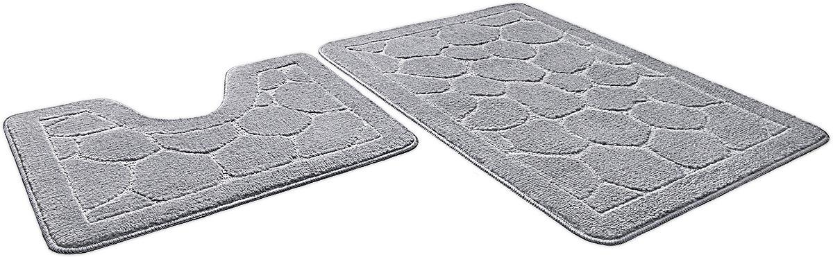 Набор ковриков для ванной Shahinteх, 7319, серый, 2 шт andrew christian 7319