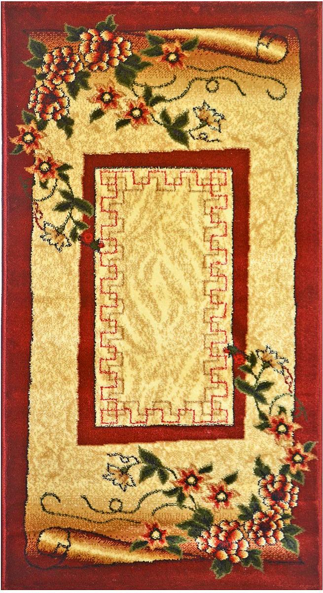 Ковер Kamalak Tekstil, прямоугольный, 100 x 150 см. УК-0062 ковер kamalak tekstil прямоугольный цвет кремовый 100 x 150 см ук 0400