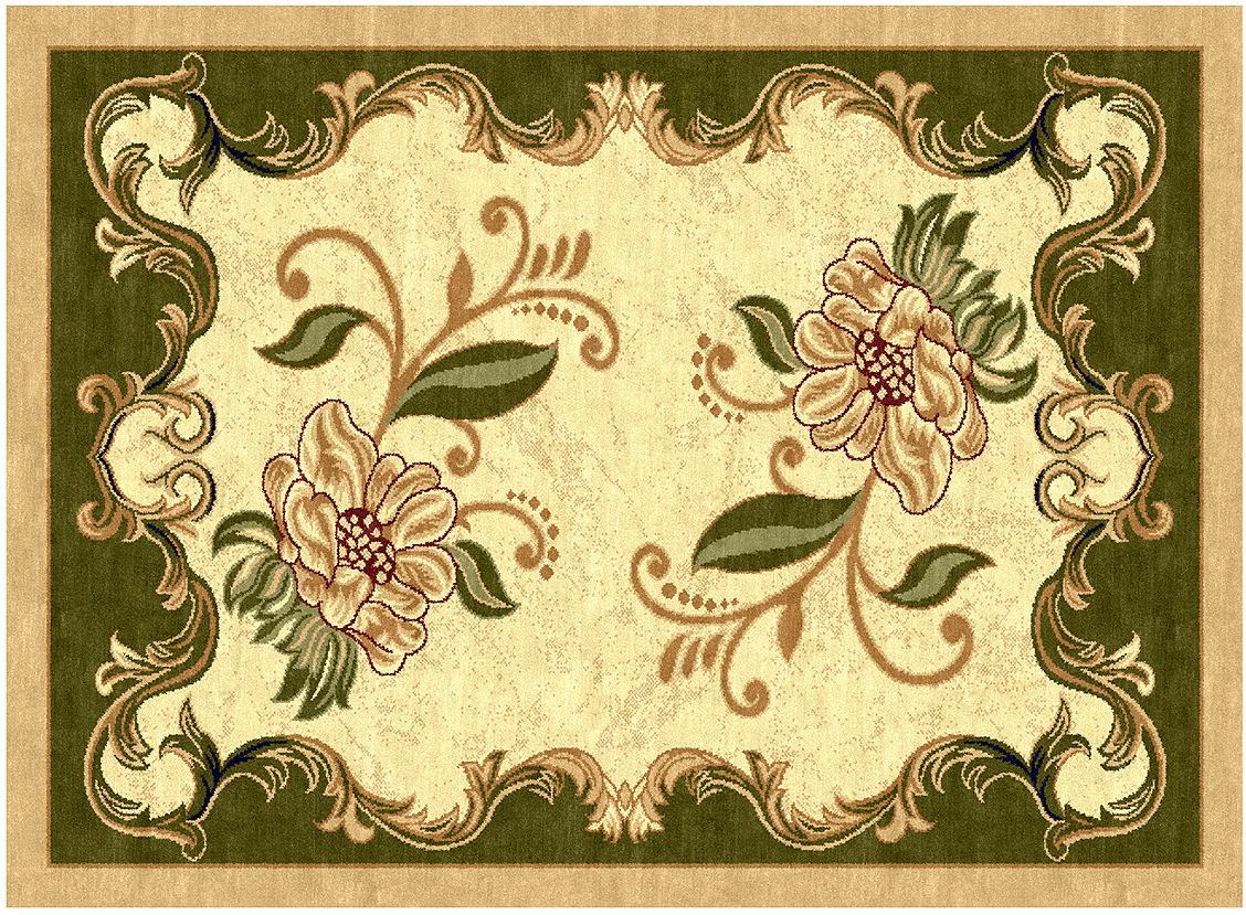 Ковер Kamalak Tekstil, прямоугольный, 100 x 150 см. УК-0071 ковер kamalak tekstil прямоугольный цвет кремовый 100 x 150 см ук 0400