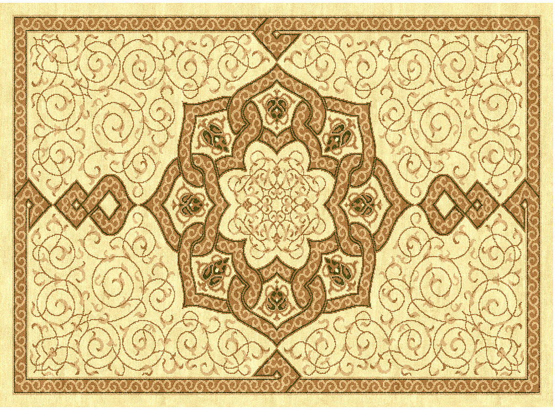 Ковер Kamalak Tekstil, прямоугольный, 100 x 150 см. УК-0089 ковер kamalak tekstil прямоугольный цвет кремовый 100 x 150 см ук 0400
