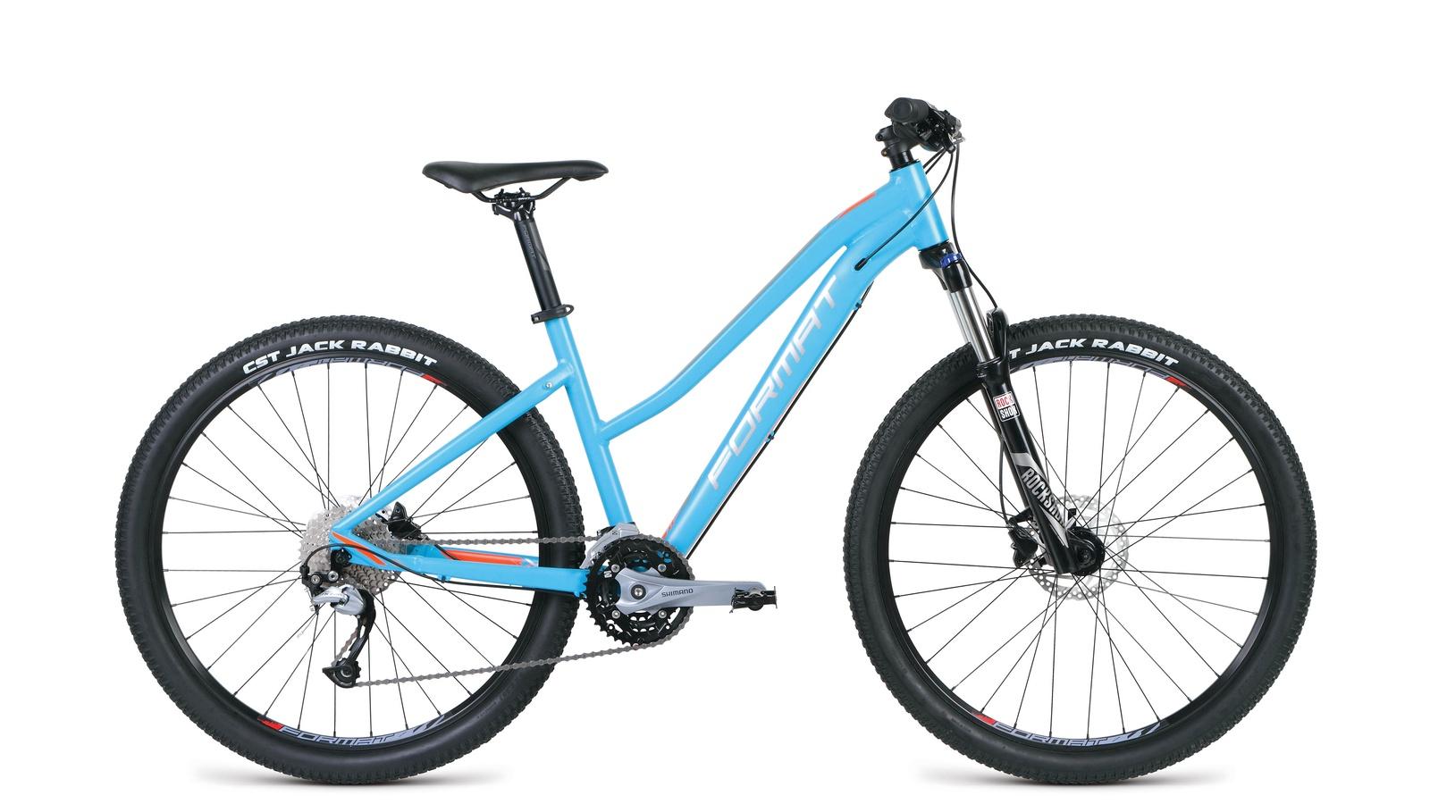 Велосипед Format RBKM9M67S023, голубой велосипед format 1113 2014