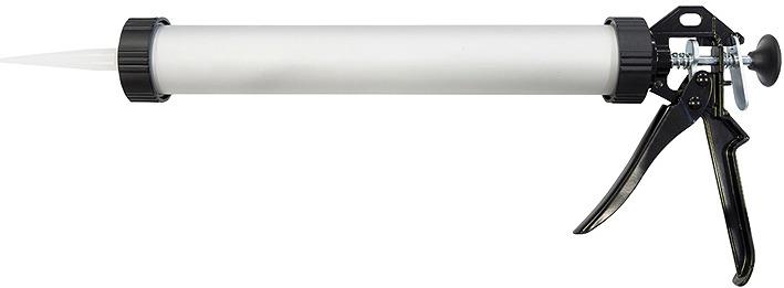 Пистолет для герметика Кедр, 030-0002, белый, черный, 750 мл пистолет для герметиков neo 61 003