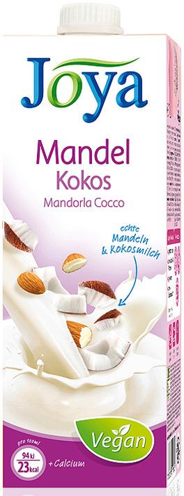 Растительное молоко JoyaAlmond-Coconut Drink 1,2%, с кальцием, ультрапастеризованное, 1 л
