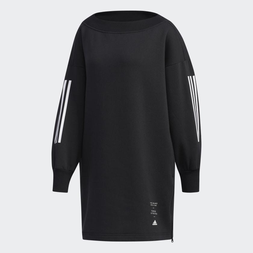Платье adidas W Id Tunic свитшот женский adidas w id glory crw цвет черный dp3909 размер l 48 50