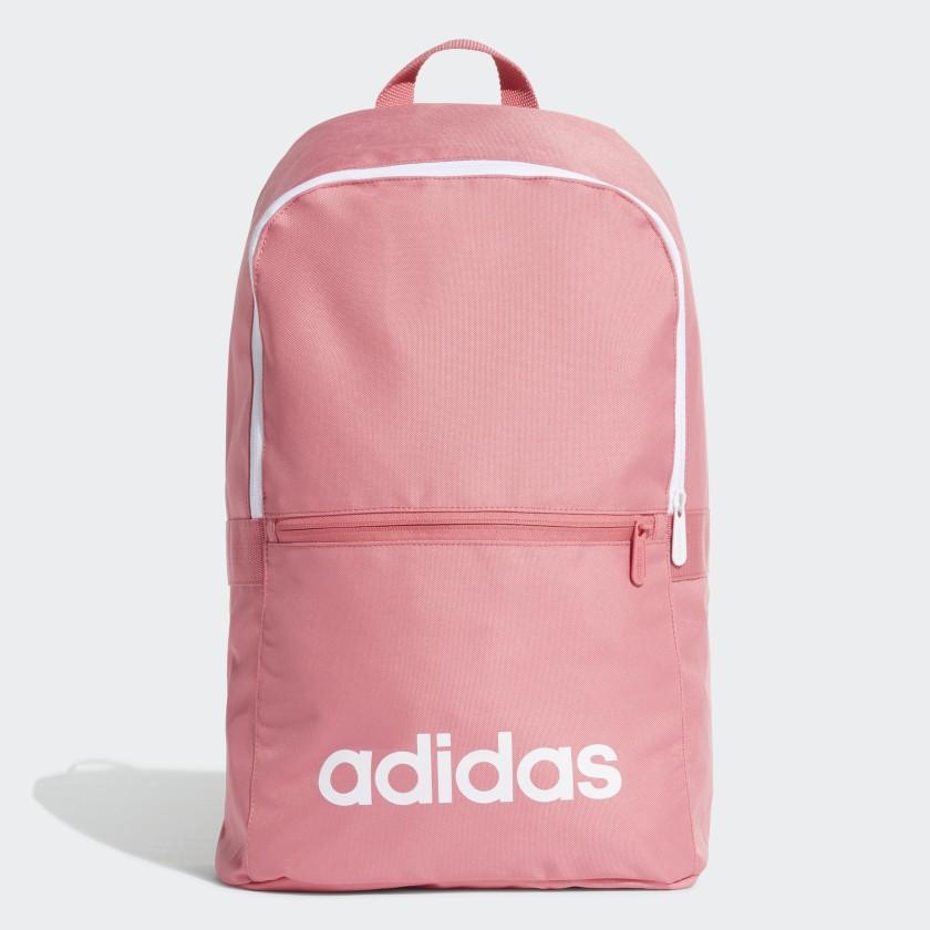 Рюкзак Adidas Lin Clas Bp Day, ED0292, розовый рюкзак adidas real id bp цвет белый cy5618
