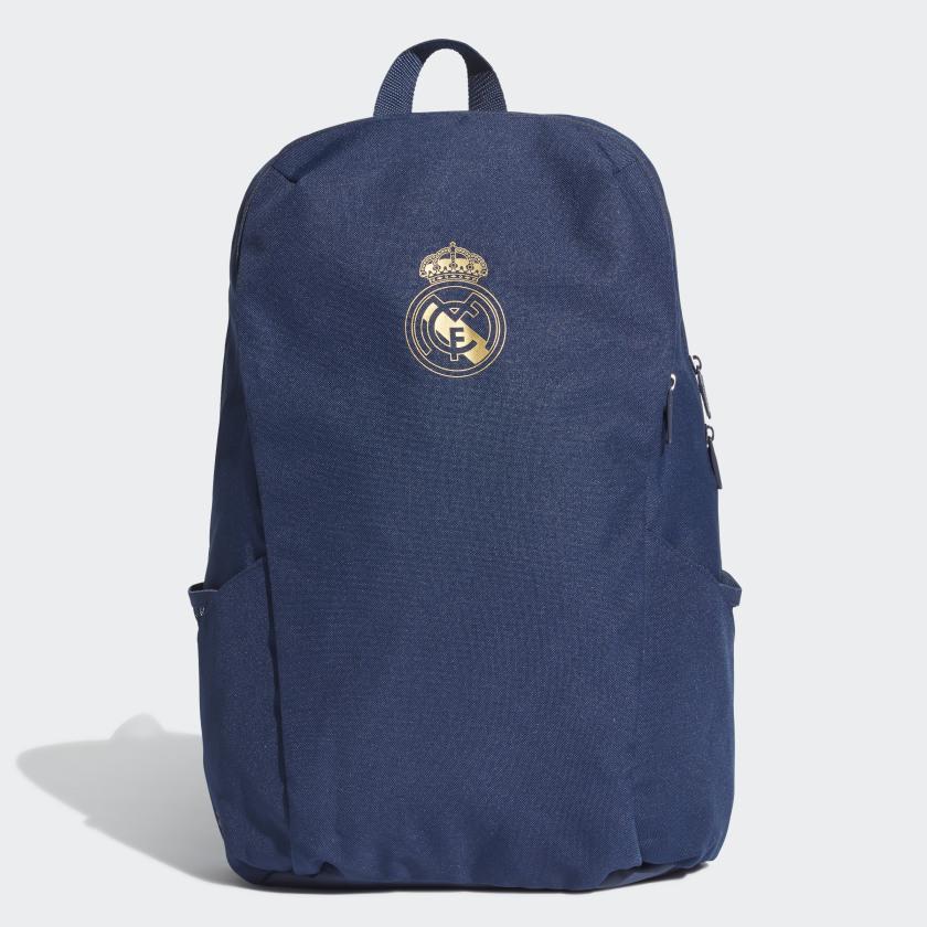 Рюкзак Adidas Real Id Bp, DY7712, синий, золотой рюкзак adidas real id bp цвет белый cy5618