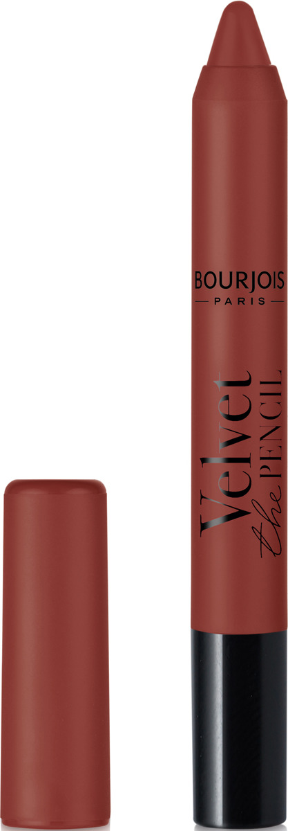 Губная помада Bourjois Velvet The Pencil Matte Lipstick, тон 10 темно-бежевый