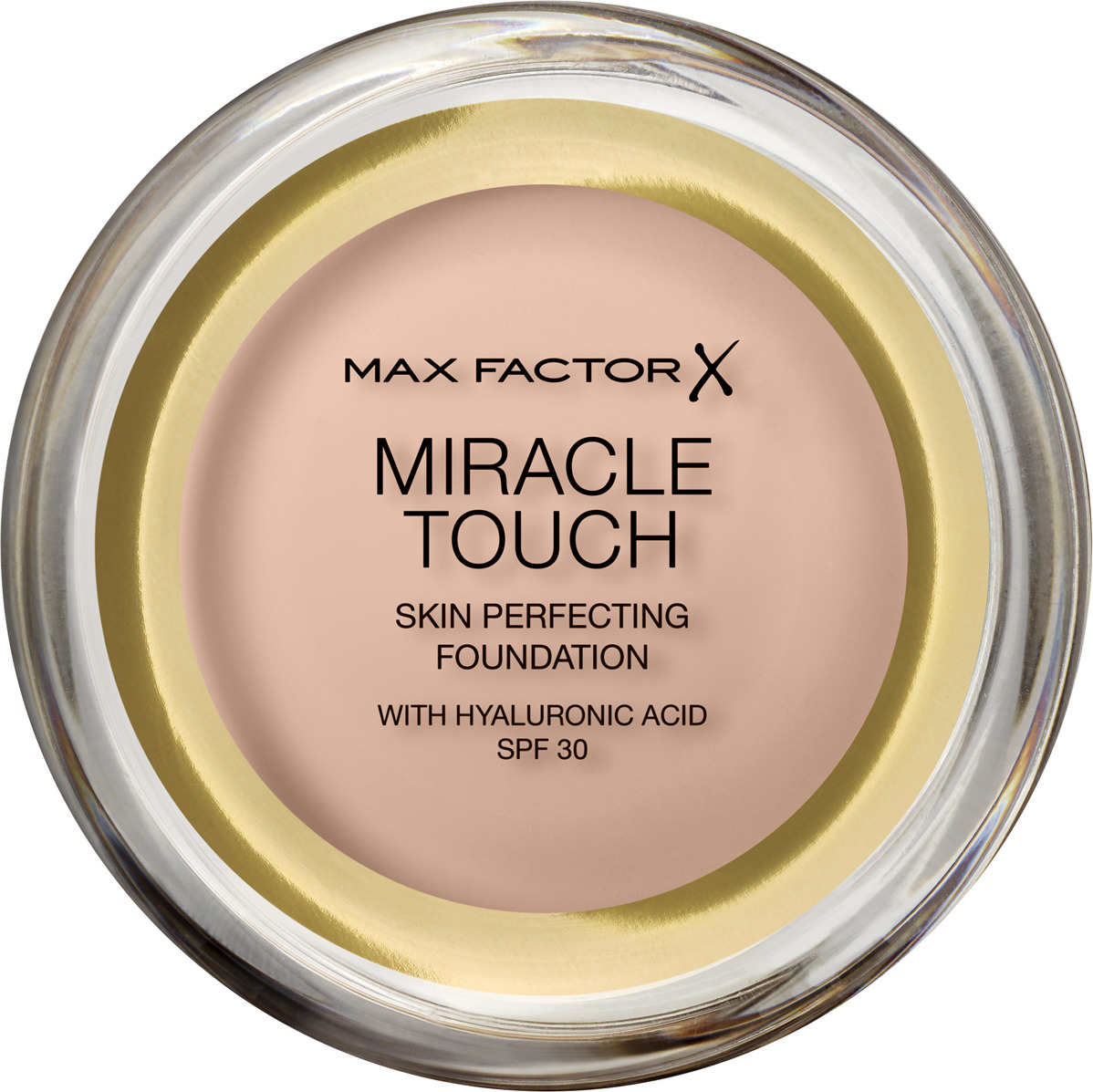 Тональная основа Max Factor Miracle Touch, SPF 30, тон 40 Creamy Ivory, 11 мл max factor тональная основа miracle match тон bronze 80