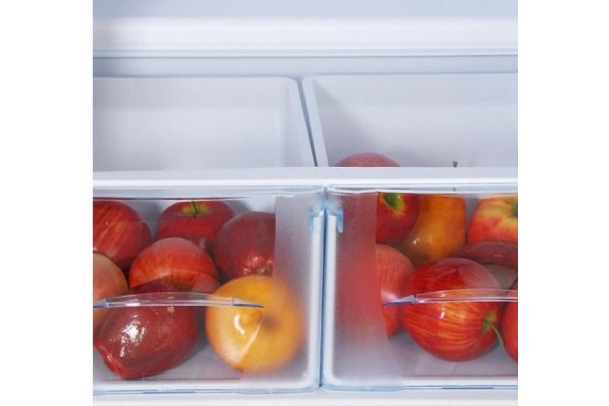 Холодильник Бирюса Б-M136, двухкамерный, металлик Бирюса