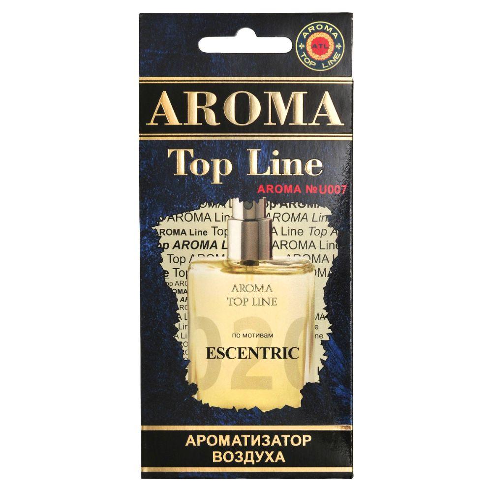 Автомобильный ароматизатор AROMA TOP LINE u007 Escentric Molecules ESCENTRIC 02 автомобильный ароматизатор golden snail aroma football ванильный крем