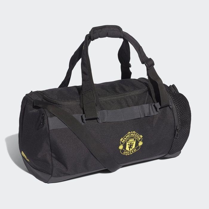 Сумка Adidas Mufc Du M, DY7688, черный футболка мужская adidas mufc h preshi цвет черный dp2285 размер m 48 50