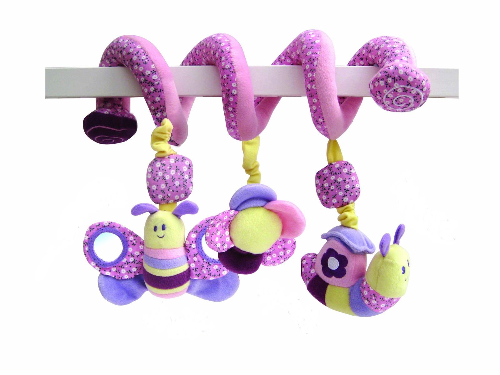 Игрушка-подвеска Little Bird Told Me Развивающая игрушка розовый