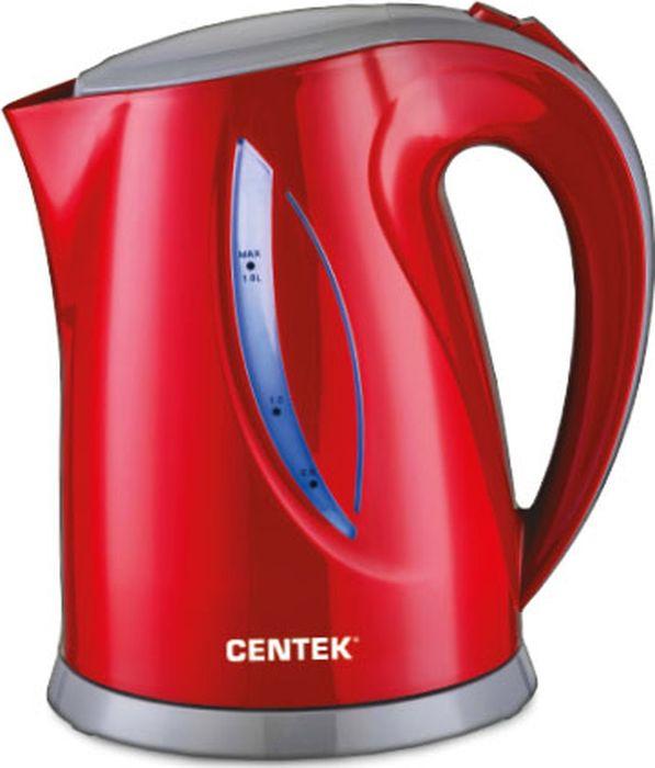 Электрический чайник Centek CT-0053, красный недорого