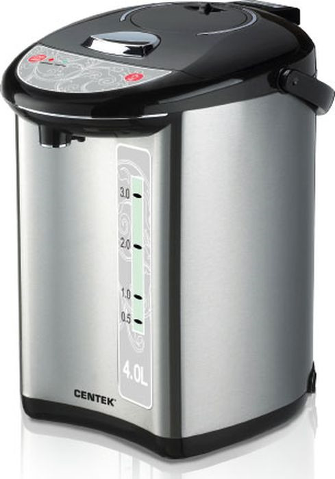 лучшая цена Термопот Centek CT-1082, серый металлик