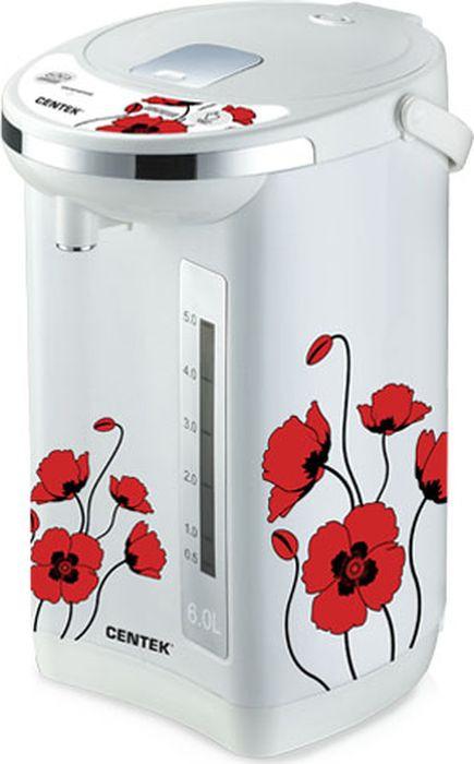 лучшая цена Термопот Centek CT-1081, белый