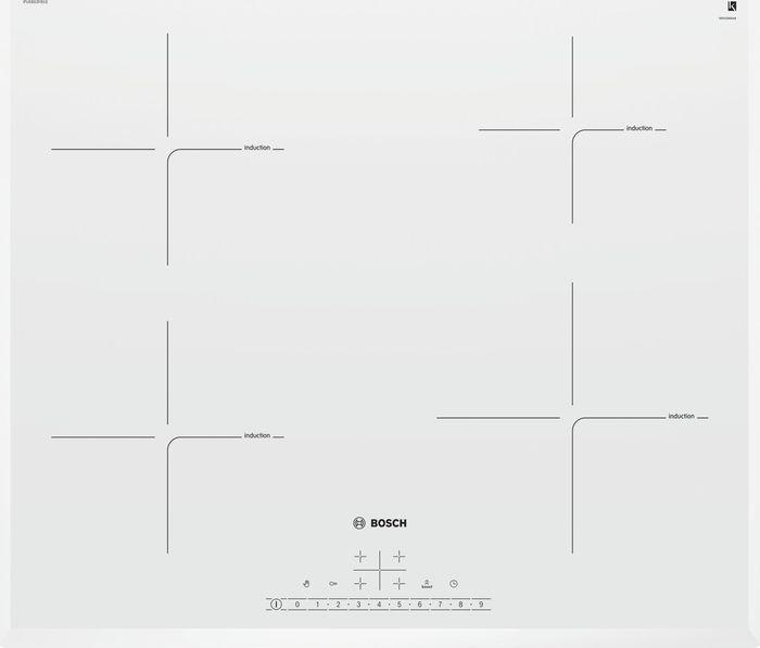 Варочная панель Bosch PUE652FB1E, белый
