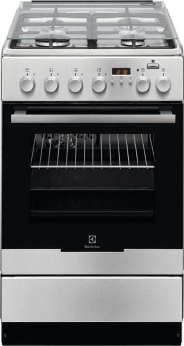 Кухонная плита Electrolux EKK 954904X, серебристый плита electrolux ekk 961900x серый металлик
