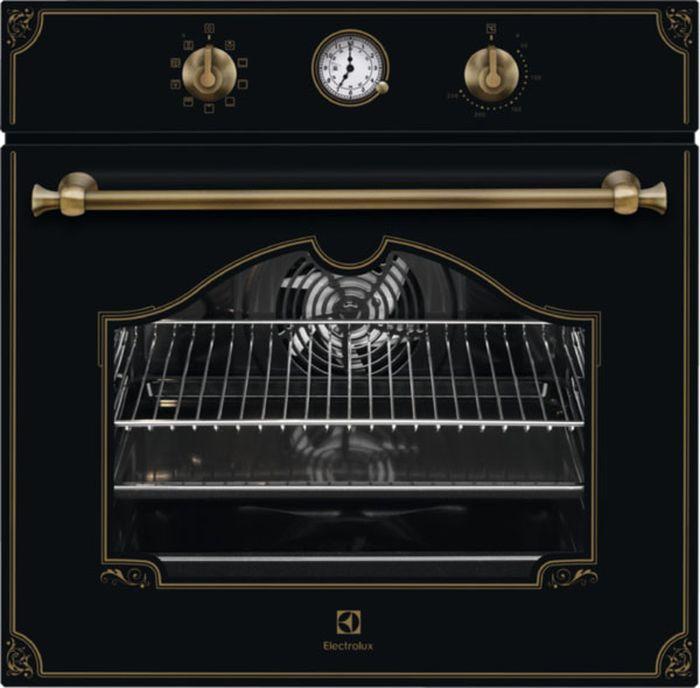 лучшая цена Духовой шкаф Electrolux OPEB 2520R, черный