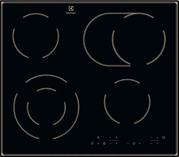 Варочная панель Electrolux CPE 644RBC, черный цена