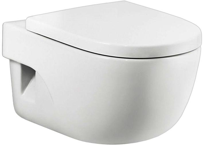 Унитаз Roca подвесной, белый сиденья для унитаза папитто накладка детская на унитаз универсал