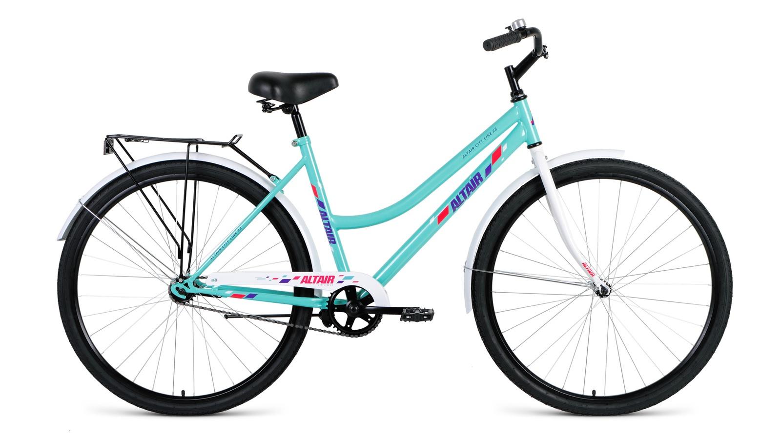 Велосипед ALTAIR City low 28, синий altair city low 28 19 2016 white