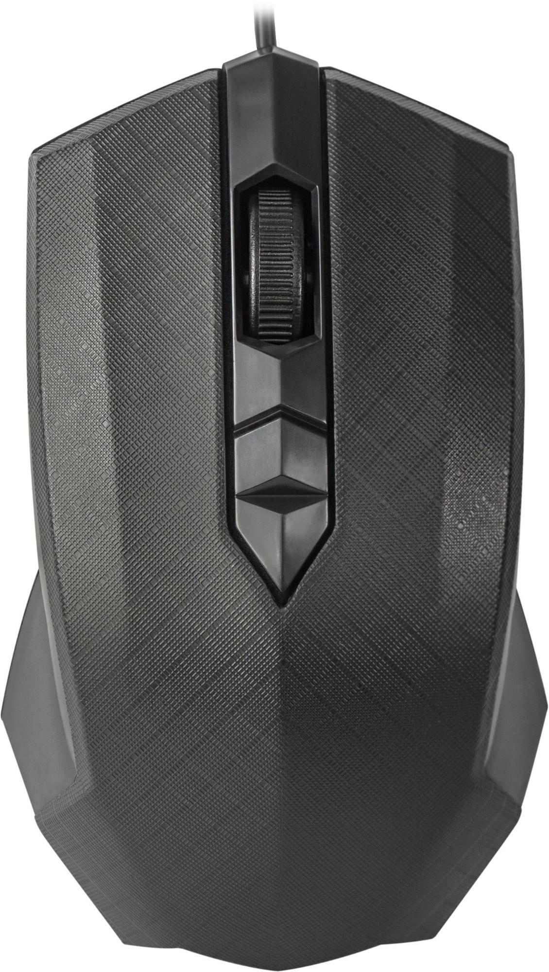 Проводная оптическая мышь Defender Guide MB-751 черный,3 кнопки,1000 dpi