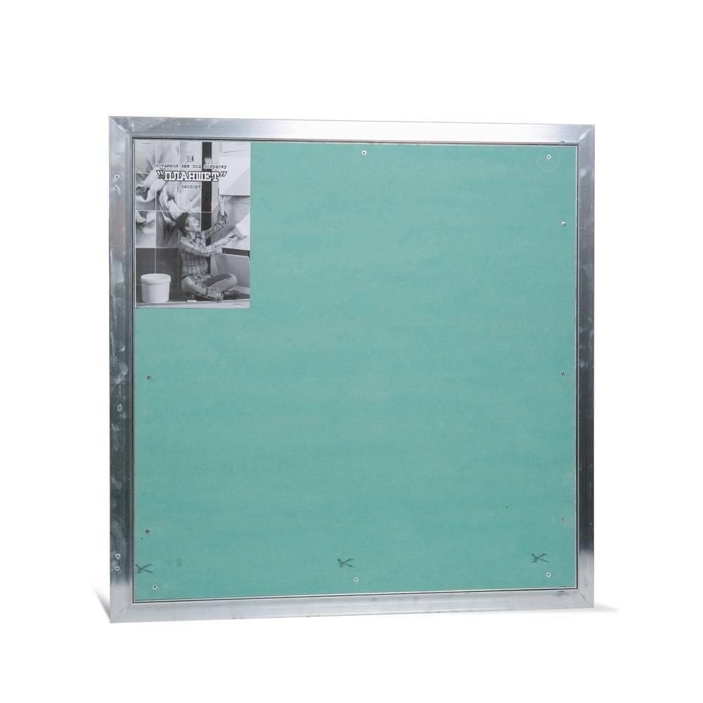 Ревизионный люк Практика Потайной люк Планшет Уголок 600х600 цена и фото