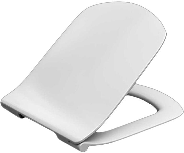 Сидение с крышкой тонкое для унитаза Roca Dama Senso ZRU9302991