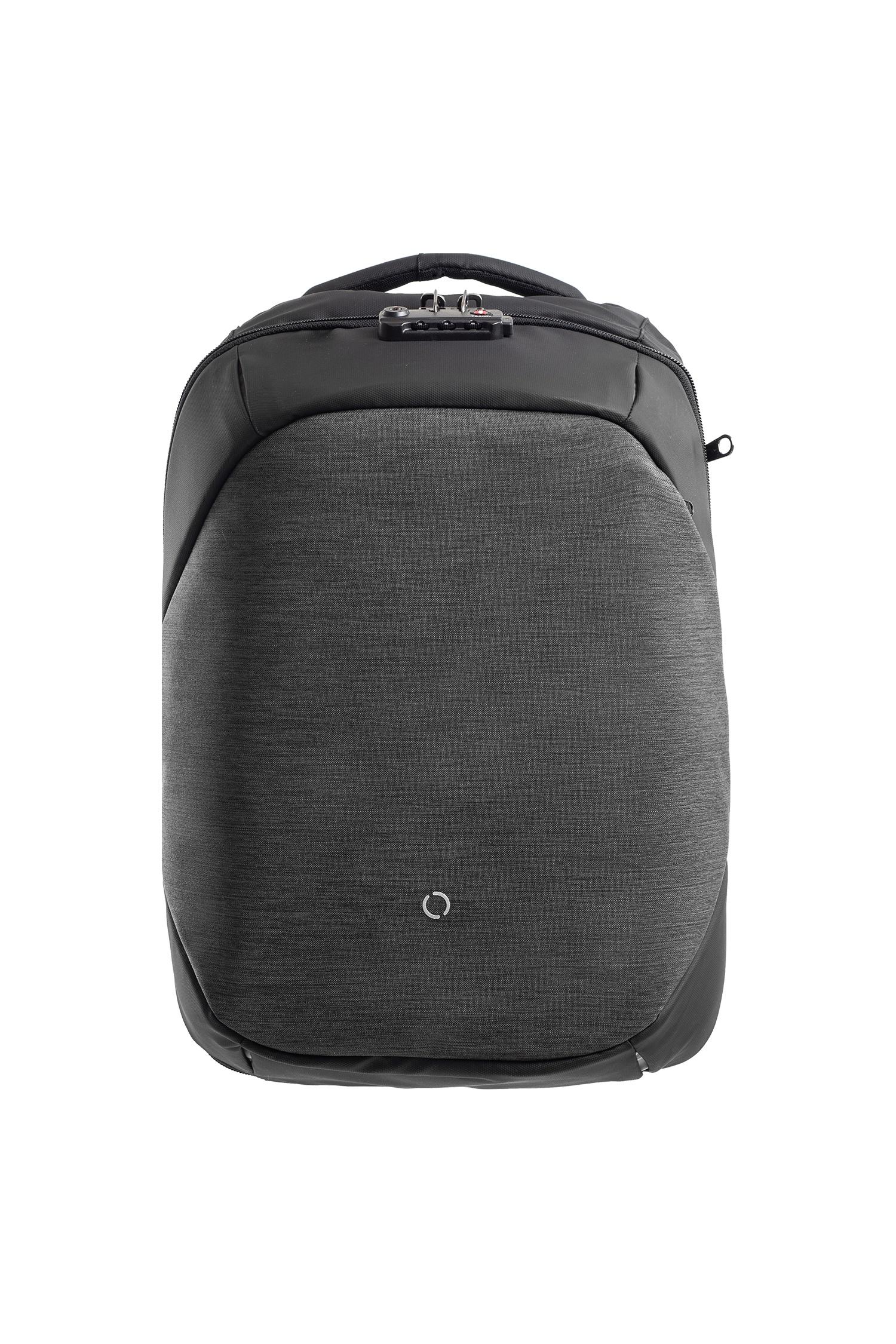 Рюкзак городской Korin Design ClickPack Basic Black, черный рюкзак korin design clickpack gray серый