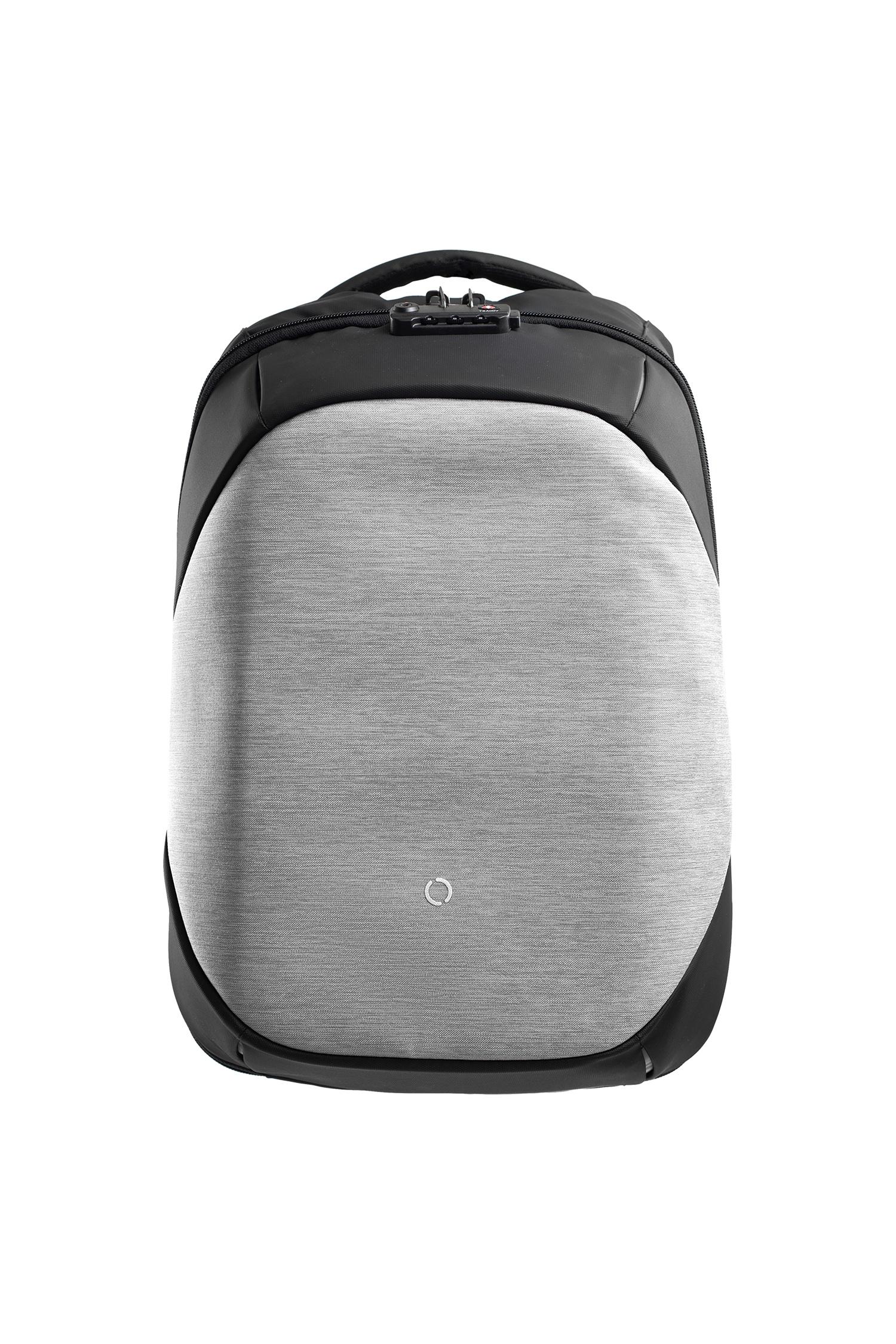 Рюкзак городской Korin Design ClickPack Basic Gray, серый рюкзак korin design clickpack gray серый