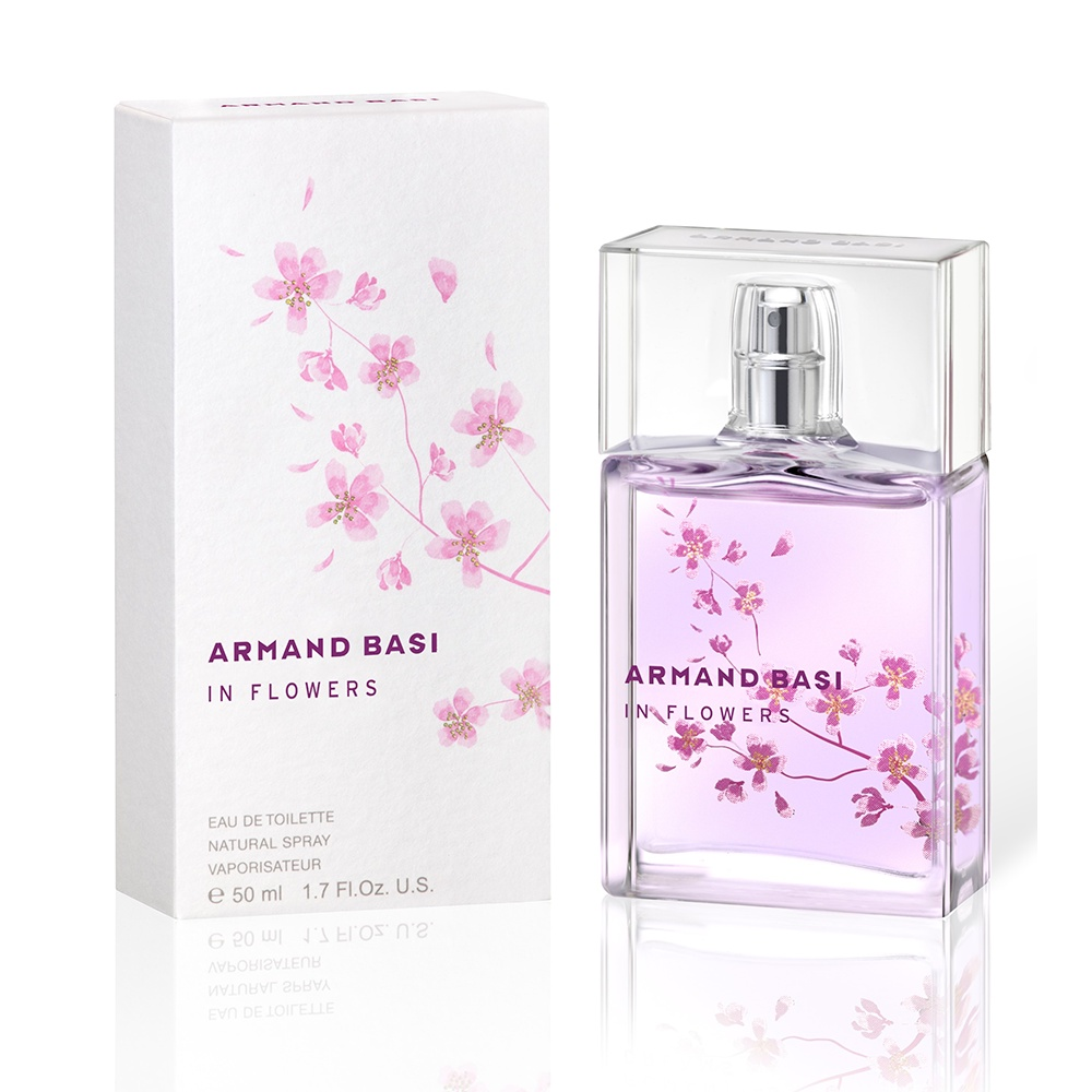 Armand Basi in Flowers Eau De Toilette,женская,50 мл. 50 мл Armand Basi