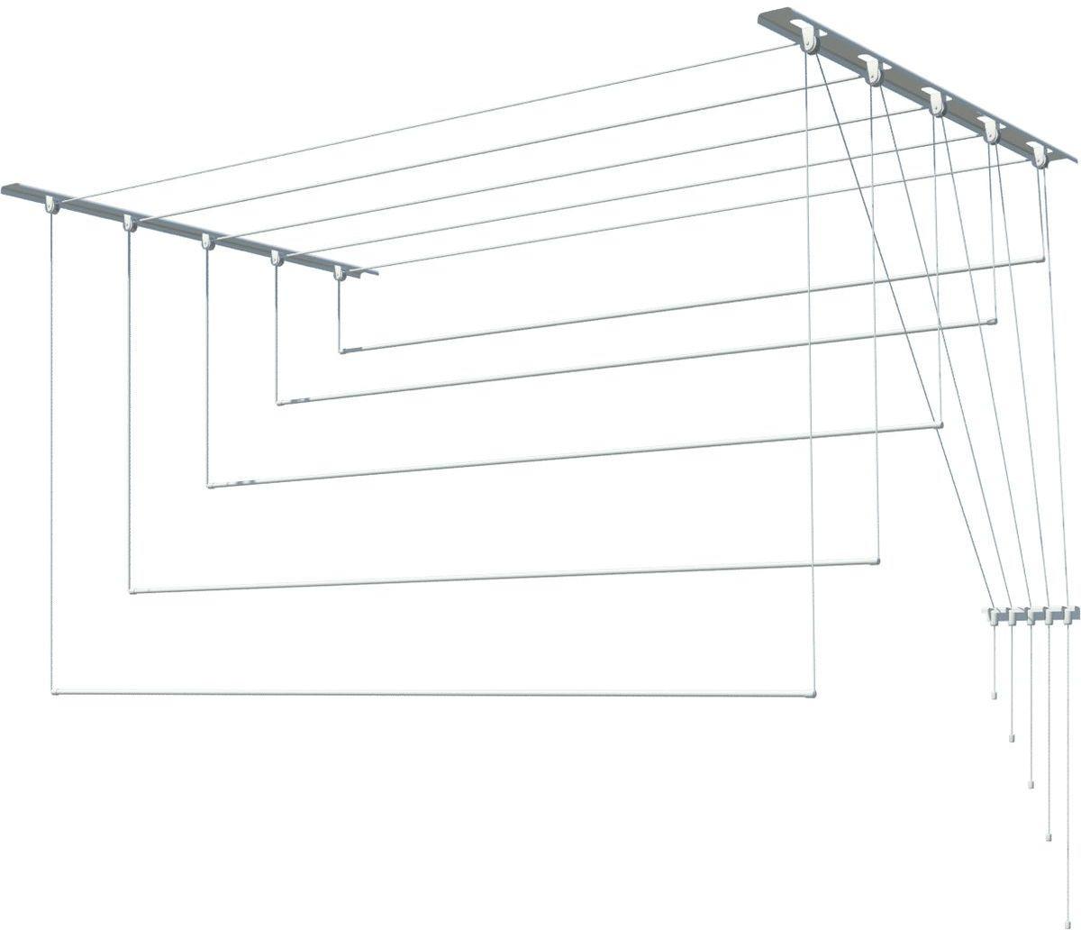 Сушилка для белья Лиана, 171104, потолочная, 2 м цена и фото