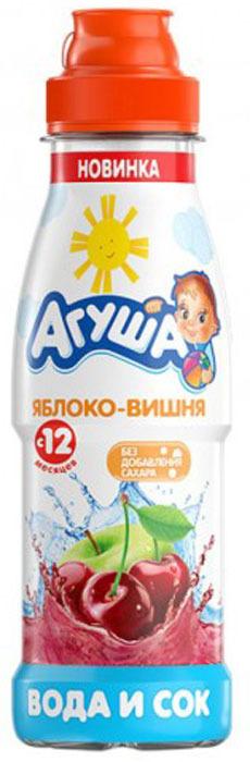 Напиток сокосодержащий Агуша Яблоко-Вишня, с 1 года, 0,3 л