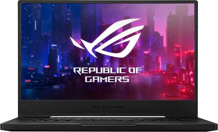 15,6 Игровой ноутбук ASUS ROG GX502GW 90NR01V1-M01630, черный цена