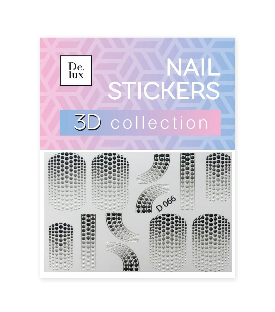 Наклейки для ногтей De.Lux D066