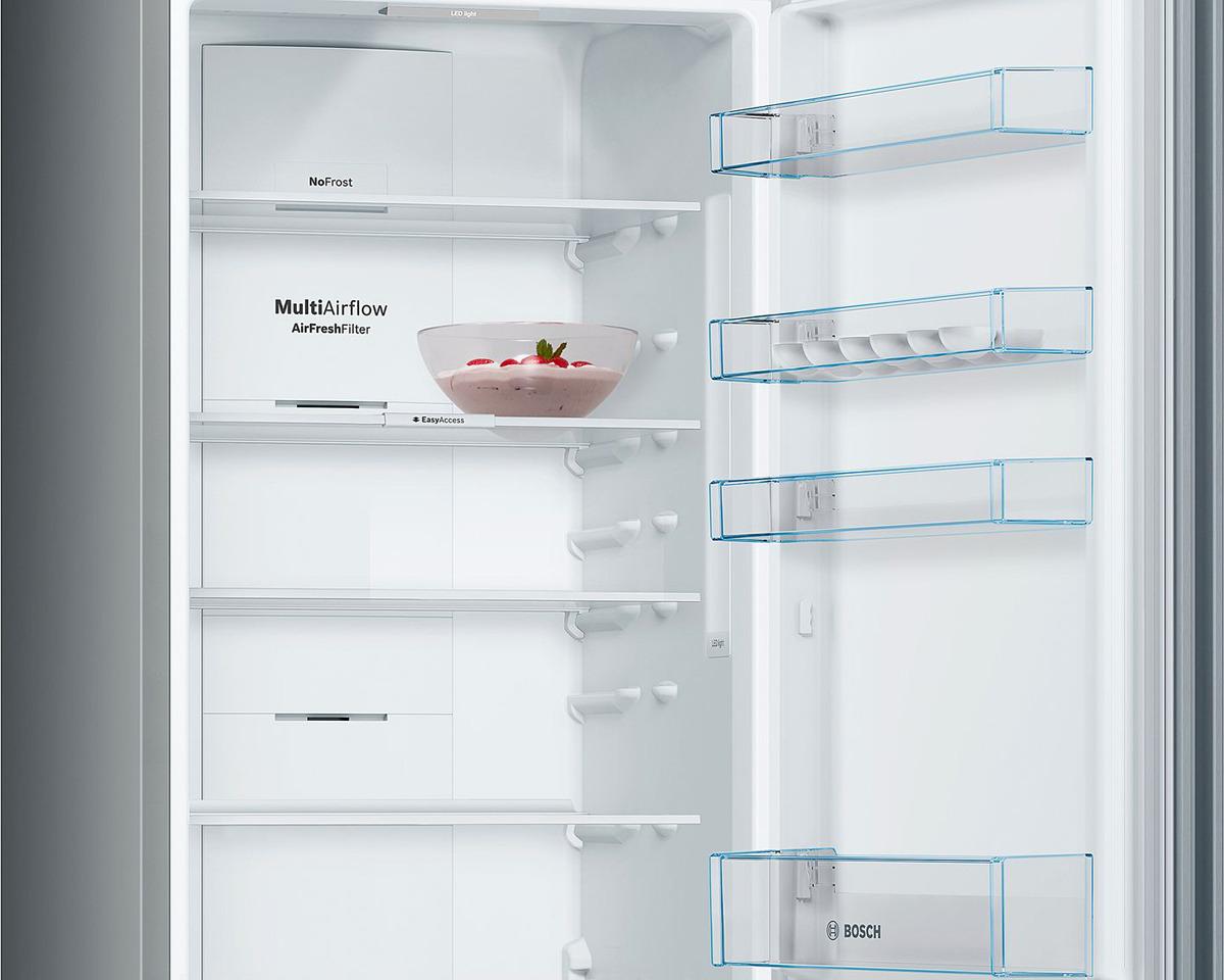 Холодильник Bosch KGN39NL2AR, серебристый Bosch