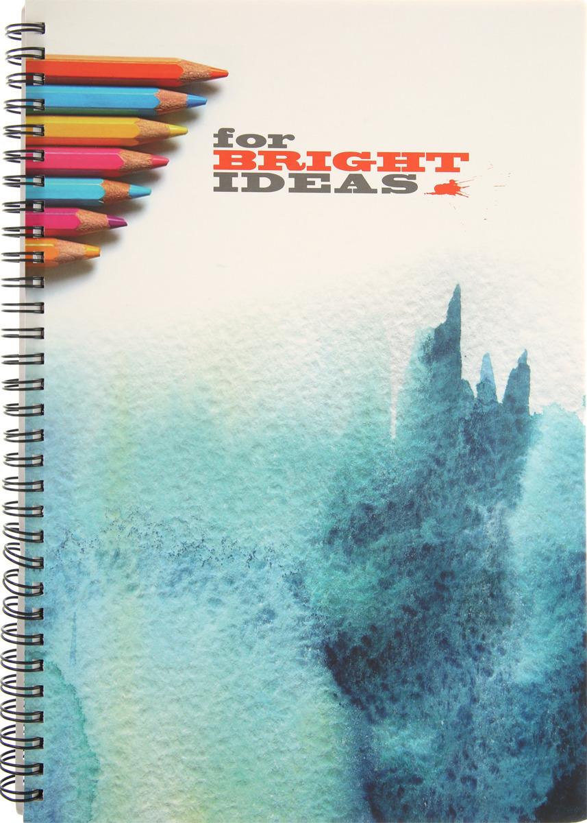 Тетрадь Attache, в клетку, формат A4, 96 листов, цвет в ассортименте музыкальный сувенир нотная тетрадь ноты рахманинов а4 16 листов цвет обложки черный