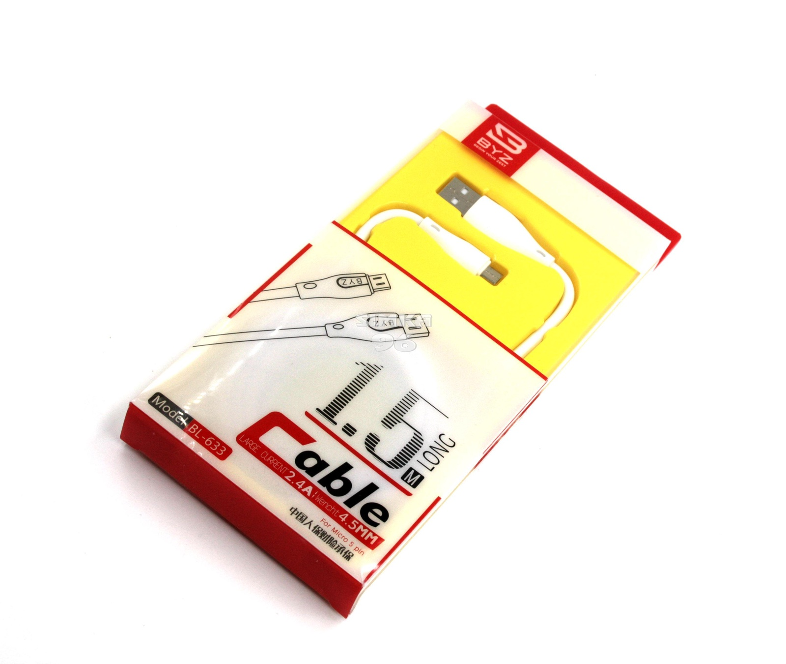 кабель BYZ BL-632 iPhone Lightning 8pin