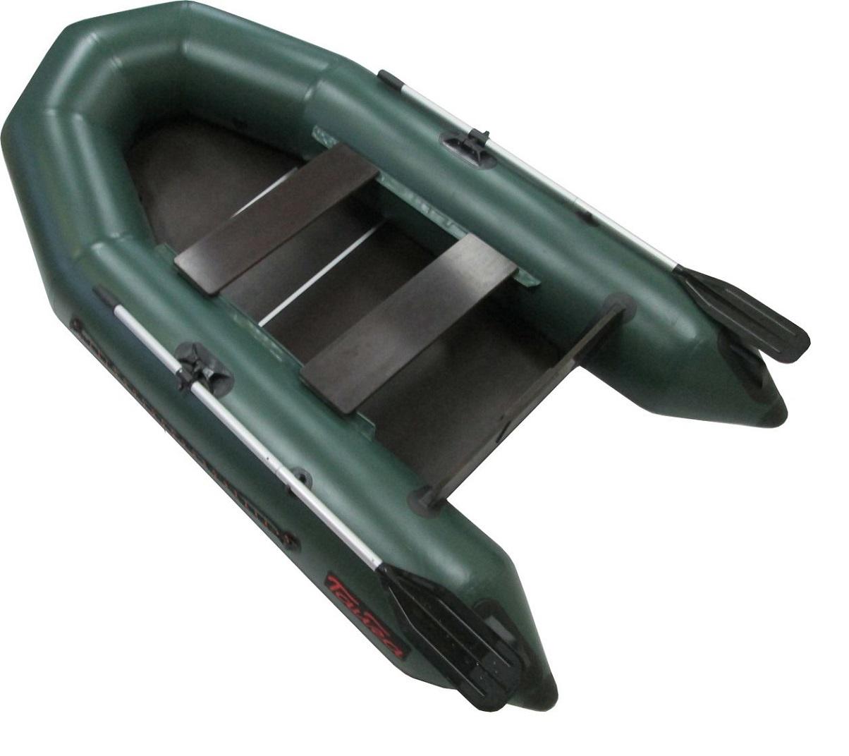 Надувная лодка Leader Т-290 NEW, цвет зеленый