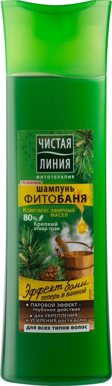 Чистая Линия Фитобаня Шампунь Для всех типов волос 400 мл цена в Москве и Питере