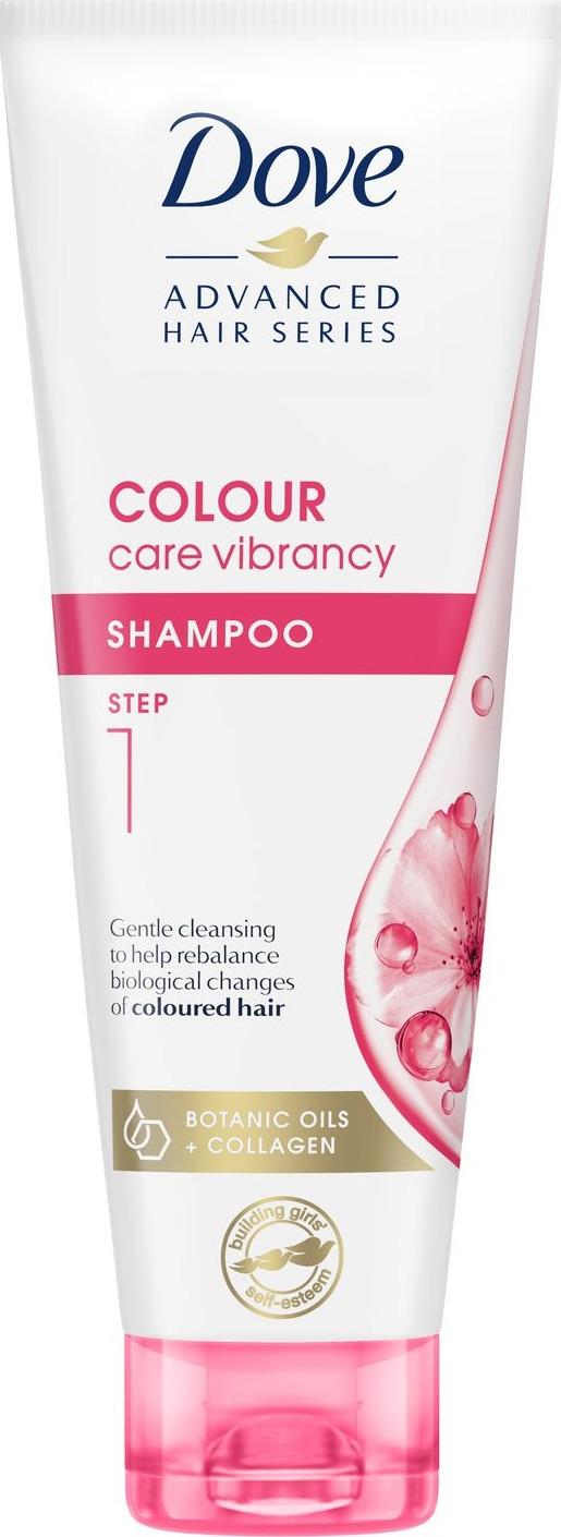 Dove Advanced Hair Series Шампунь Роскошное сияние, 250 мл dove шампунь hair therapy питающий уход 380мл