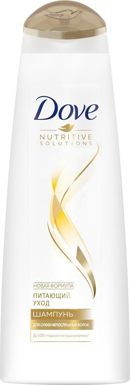 Dove Nutritive Solutions Шампунь Питающий уход 250 мл dove шампунь hair therapy питающий уход 380мл