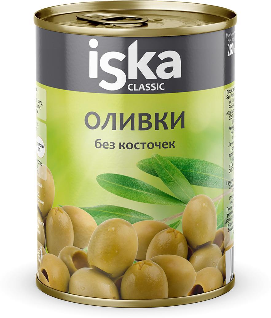 Овощные консервы ISKA Оливки зеленые, 270 г пончо iska