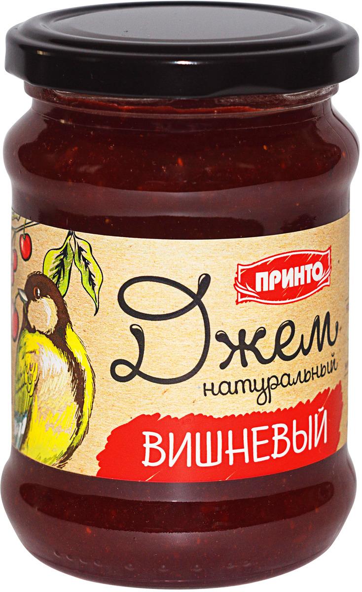 Джем Принто Вишневый, 300 г джем принто клубничный 300 г