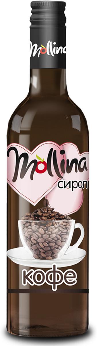 Сироп Mollina Кофе, 345 г золотое утро сироп для кофе классический 340 г