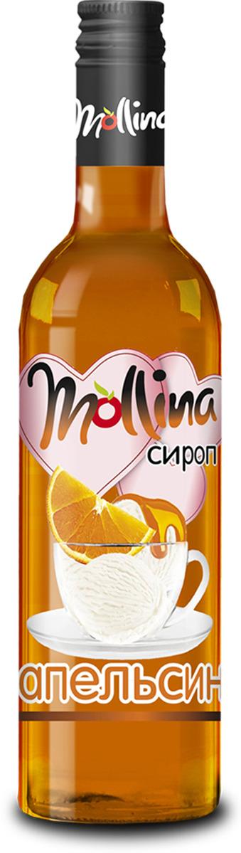 Сироп Mollina Апельсин, 345 г Mollina