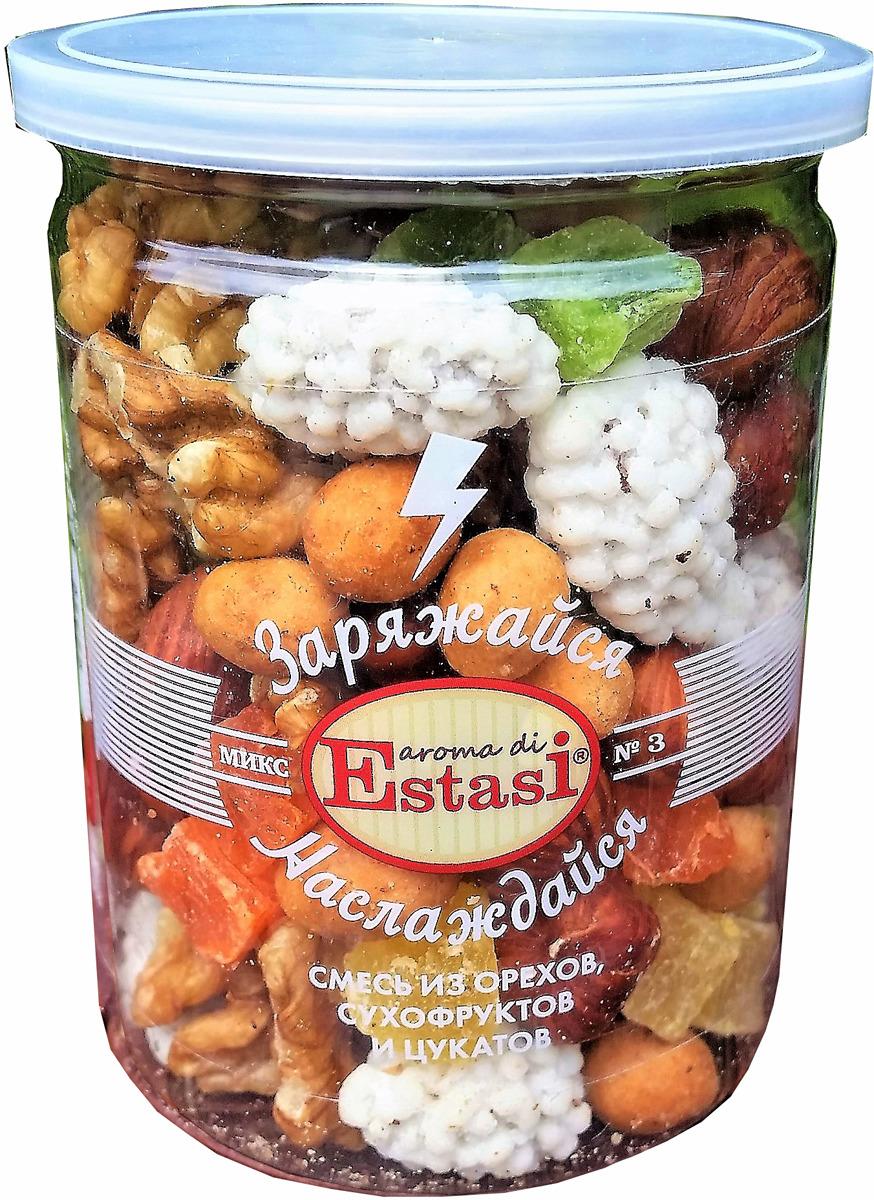 Смесь из орехов, сухофруктов и цукатов Aroma di Estasi Микс №3, 160 г