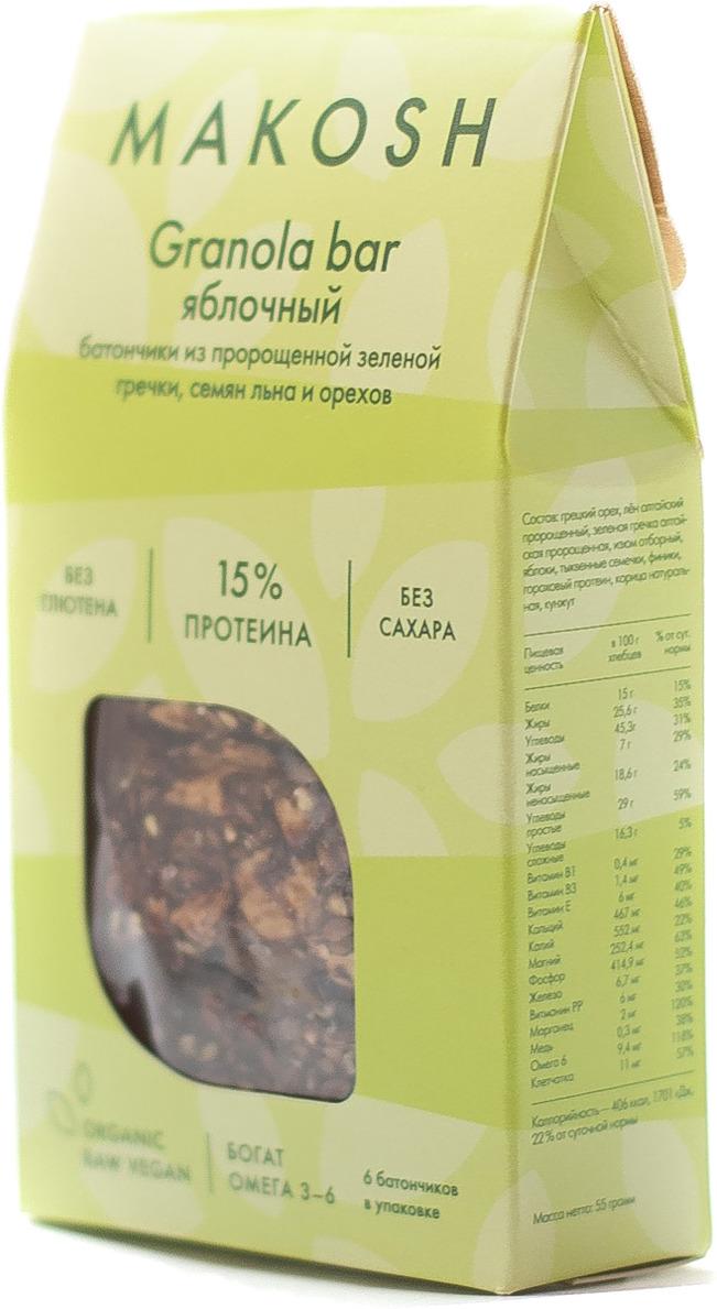 Гранола Makosh Granola Яблочный штрудель, 55 г