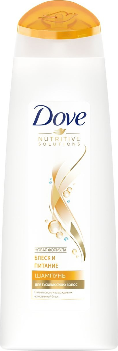 Dove Nutritive Solutions шампунь Блеск и питание, 250 мл цена